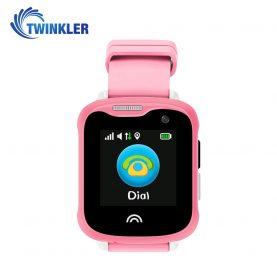 Okosóra gyerekeknek Twinkler TKY-D7 Tárcsázási funkcióval, GPS nyomkövetővel, Kamera, Lépésszámláló, IP54, Rózsaszín