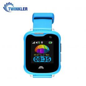 Okosóra gyerekeknek Twinkler TKY-D7 Tárcsázási funkcióvalval, GPS nyomkövető, Kamera, Lépésszámláló, IP54, Kék