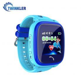 Okosóra gyerekeknek Twinkler TKY-DF25 Tárcsázási funkcióval, GPS nyomkövetővel, Lépésszámláló, SOS, IP54 – Kék
