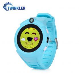 Okosóra gyerekeknek Twinkler TKY-G610 Tárcsázási funkcióval, GPS nyomkövetővel, Kamera, Zseblámpa, Lépésszámláló, SOS, Bleu