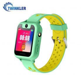 Okosóra gyerekeknek Twinkler TKY-S6 Tárcsázási funkcióval, GPS nyomkövető, Kamera, Zseblámpa, SOS, Jáde-Zöld