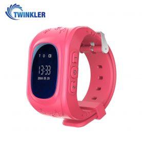 Okosóra Twinkler TKY-Q50 Tárcsázási funkcióval, GPS nyomkövetővel, Lépésszámláló, SOS, Rózsaszín
