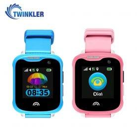 Promóciós csomag 2 Okosóra gyerekeknek Twinkler TKY-D7 Tárcsázási funkcióval, GPS nyomkövető, Kamera, Lépésszámláló, IP54, Rózsaszín-Kék