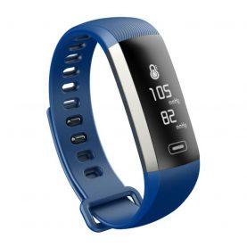Intelligens fitnesz karkötő M2S Vérnyomás és pulzusmérővel, Kék