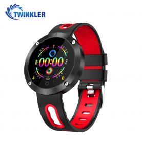Intelligens fitnesz karkötő TKY-DM58 Plusz, Pulzusmérő funkció, Vérnyomásmérő funkció, Alvásfigyelés, Lépésszámláló, Értesítések, Piros