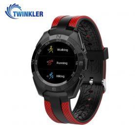 Okosóra TKY-L3 Pulzusmérő funkció, Értesítések, Lépésszámláló, Bluetooth, Piros