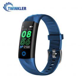 Intelligens fitnesz karkötő TKY-S5 Pulzusmérő funkció, Vérnyomásmérő funkció, Alvásfigyelés, Lépésszámláló, Értesítések, LED megvilágítás, Kék
