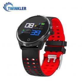 Okosóra TKY-X7 Pulzusmérő funkció, Vérnyomás, Alvásfigyelés, Értesítésekkel, Fekete-Piros