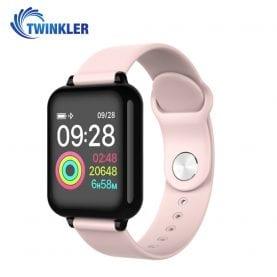 Okosóra TKY-FT07 Pulzusmérő funkció, Vérnyomás, oxigénszint, Hívás / SMS Értesítések, Időjárás-előrejelzés, Sport funkció, Rózsaszín