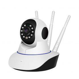 Bébi monitor BS-IP22L (BS-IP26L) Vezeték nélküli, audio-videó megfigyelés, kétirányú kommunikáció, Éjszakai látás, Mozgásérzékelő, Forgó kamera, Riasztás, Mobiltelefon-vezérlés
