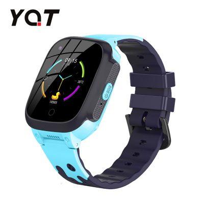 Okosóra gyerekeknek YQT T8 Tárcsázási funkcióval, GPS Nyomkövetők, Útvonal visszakövetése, Hívásfigyelés, Kamera, SOS, Játékok, Kék