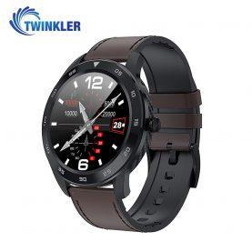 Okosóra Twinkler TKY-SW10 Pulzusmérő funkció, Vérnyomásmérő funkcióval, EKG, Híváselőzmények, Naptár, Bluetooth-szos hívás, Fekete – Barna