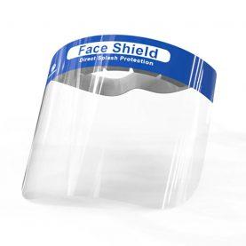 Bepárásodás elleni arcvédő, könnyű, átlátszó képernyő