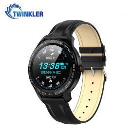 Okosóra Twinkler TKY-M9 (L9) Pulzusmérő funkció, Vérnyomásmérő funkcióval, EKG, Véroxigénszint mérési funkcióval, Hívás/SMS Értesítések, Mágneses töltés, Fekete