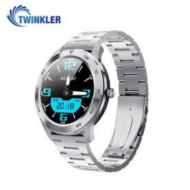 Okosóra Twinkler TKY-SW10 Pulzusmérő funkció, Vérnyomásmérő funkcióval, EKG, Híváselőzmények, Naptár, Bluetooth-szos hívás, Ezüst