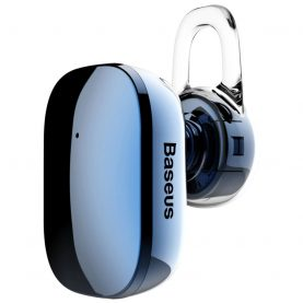 Fülhallgató Baseus Encok A02 Mini Bluetooth, Bluetooth 4.1, 60 mAh akkumulátor, 10 m kommunikációs távolság, Kék