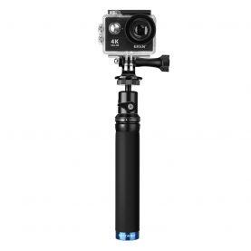 Szelfibot BlitzWolf BW-BS0, Fekete, Sport kamerákhoz, Hosszabbítható, Csipesz