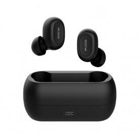 Fülhallgató QCY T1C, Vezeték nélküli, Bluetooth 5.0, 380 mAh akkumulátor, 2 órás töltési idő, Fekete