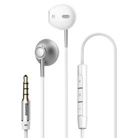 Fülhallgató Baseus Encok H06, Ezüst, 3,5 mm-es jack, NGH06-0S