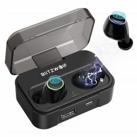 Fülhallgató BlitzWolf BW-FYE3 TWS, Wireless, Bluetooth 5.0, 2600 mAh akkumulátor