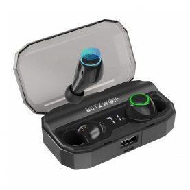 Fülhallgató BlitzWolf BW-FYE3S TWS, Wireless, Bluetooth 5.0, 2600 mAh akkumulátor