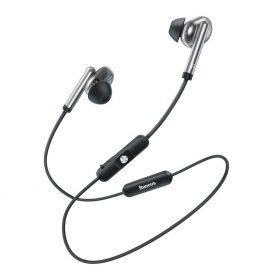 Fülhallgató Baseus Encok S30, Ezüst, Bluetooth 5.0, 100 mAh akkumulátor