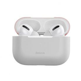 Apple AirPods Pro Védőtok, Ultra vékony, Szilikagél, Rózsaszín