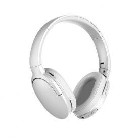 Fejhallgató Baseus Encok D02, Fehér, Wireless, Bluetooth 5.0, 450 mAh akkumulátor