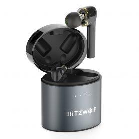 Fülhallgató BitzWolf TWS BW-FYE8, Wireless, Bluetooth 5.0, 500 mAh akkumulátor