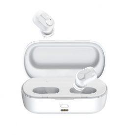 Fülhallgató Baseus Encok W01, Fehér, Wireless, Bluetooth 5.0