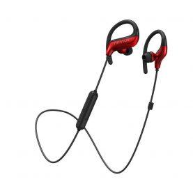 Fülhallgató BlitzWolf AIRAUX AA-NH1, Piros – Fekete, Wireless, Bluetooth 5.0, 16 Ohm impedancia