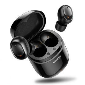 Fülhallgató UGreen CM338, Fekete, Wireless, Bluetooth, 480 mAh-s akkumulátor