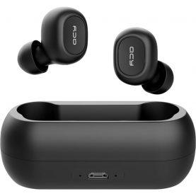 Fülhallgató QCY T1 TWS, Fekete, Wireless, Bluetooth 5.0, 380 mAh akkumulátor