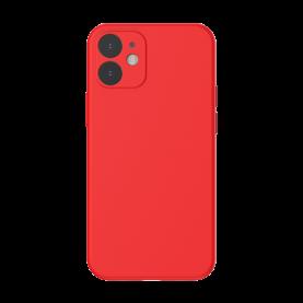 Baseus Védőtok Apple iPhone 12 Mini, Baseus Védőtok, Szilikon, 5,4″, Piros