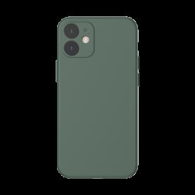Baseus Védőtok Apple iPhone 12, Szilikon, 6,1″, Zöld