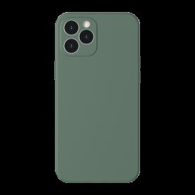 Baseus Védőtok Apple iPhone 12 Pro, Szilikon, 6,1″, Zöld