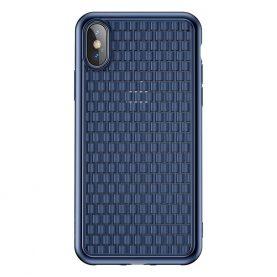 Védőtok Apple iPhone X / XS Baseus BV, 5.8″, Kék