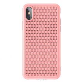 Védőtok Apple iPhone X / XS Baseus BV, 5.8″, Rózsaszín