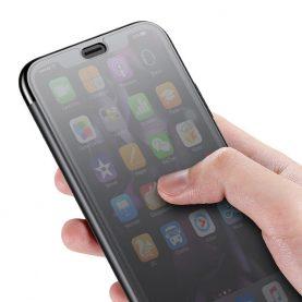 Apple Iphone XR, Baseus Érinthető Védőtok, 6,1″, Fekete