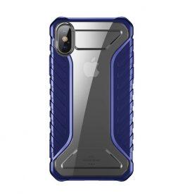 Apple iPhone XS Max Védőtok, Baseus Michelin, 6,1″, Kék