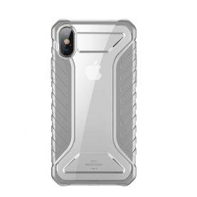 Apple iPhone XS Max Védőtok, Baseus Michelin, 6,1″, Szürke