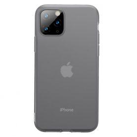 Apple iPhone 11 Pro Védőtok, Baseus Jelly Liquid, 5,8″, Füstös / Átlátszó