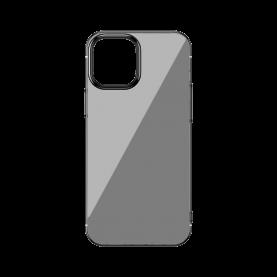 Baseus Védőtok Apple iPhone 12/12 Pro, Csillogó Alap, 6,1″, Fekete/ Átlátszó