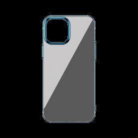 Baseus Védőtok Apple iPhone 12/12 Pro, Csillogó Alap, 6,1″, Kék/ Átlátszó