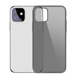 Apple iPhone 11 Védőtok, Baseus Simplicity Sorozat, 6,1″, Fekete / Átlátszó,