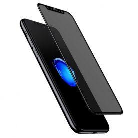 Képernyőfólia Apple iPhone X / XS, Privacy Glass, Füstös, 0,23 mm