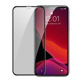 2 Db Üvegfólia Csomag Apple iPhone 11 Pro, Képernyővédelem érdekében, Privacy Glass, Füst