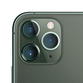 2 Db Üvegfólia Csomag Kamera védelméhez, iPhone 11 Pro / Pro Max, Átlátszó, 0,15 mm