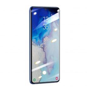 2 Db Üvegfólia Csomag Samsung Galaxy S20, Képernyő védelme érdekében, Baseus edzett üveg, 0,25 mm