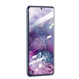 2 Db Üvegfólia Csomag Samsung Galaxy S20 Ultra, Átlátszó és ívelt